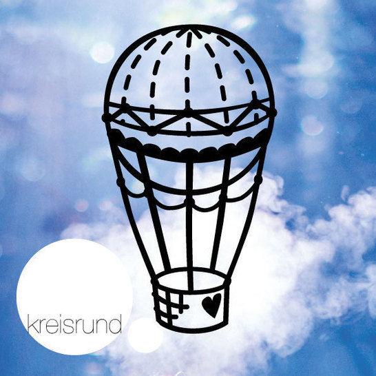 Plotterdatei Heißluftballon - Plotterdateien bei Makerist sofort runterladen