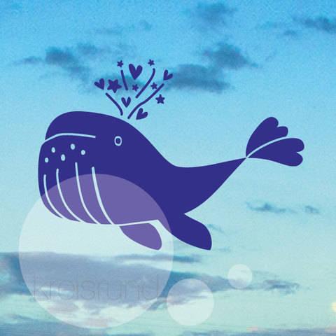 Plotterdatei Wal bei Makerist sofort runterladen