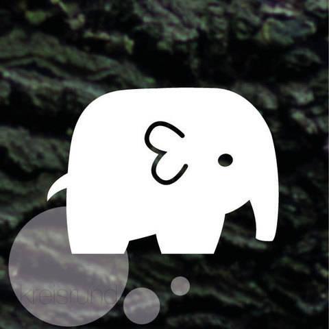 Plotterdatei Elefant bei Makerist sofort runterladen