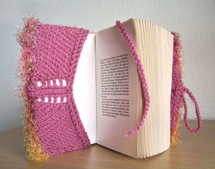 Download Book Cover, Journal Cover, Knitting Pattern - Knitting Patterns immediately at Makerist