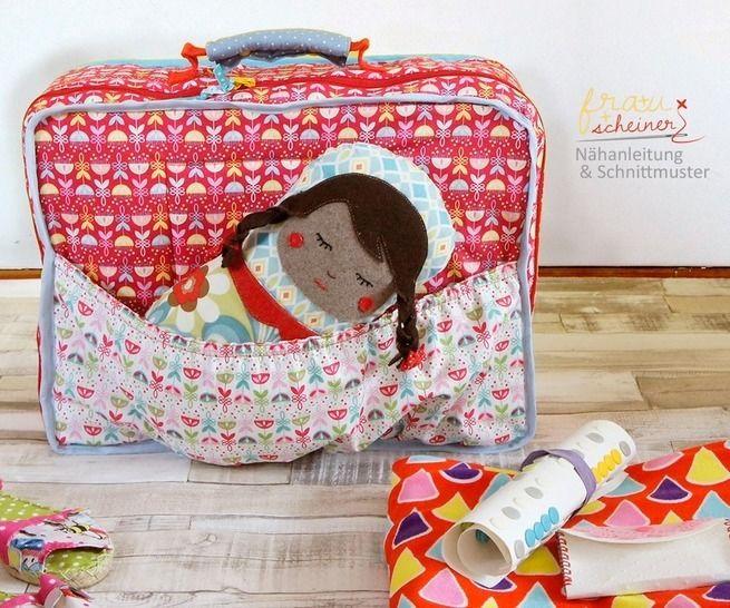 Kinder Koffer nähen - Nähanleitungen bei Makerist sofort runterladen