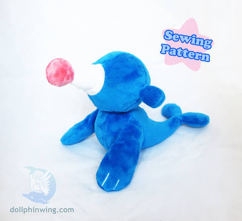Download Circus Seal Plushie Sewing Pattern immediately at Makerist
