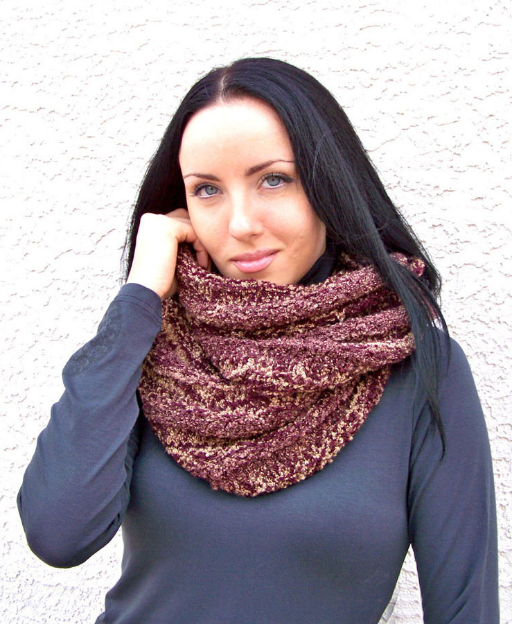 Infinity Scarf, Cowl Scarf, Knitting Pattern