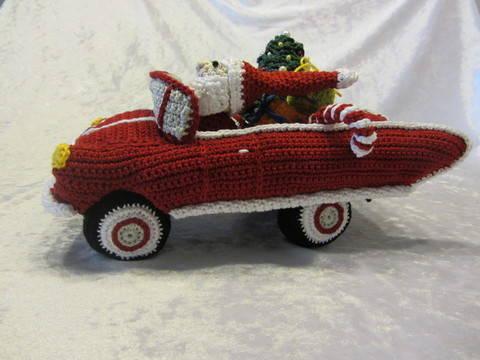 Rasender Weihnachtsmann bei Makerist sofort runterladen