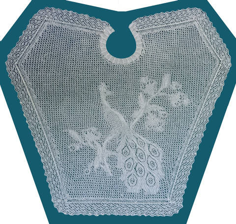 Download Lace Peacock Shawl immediately at Makerist