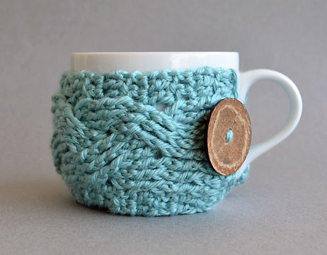 Download Cup Cozy, Coffee Sleeve, Mug Cozy, Cup Warmer - Crochet Patterns immediately at Makerist