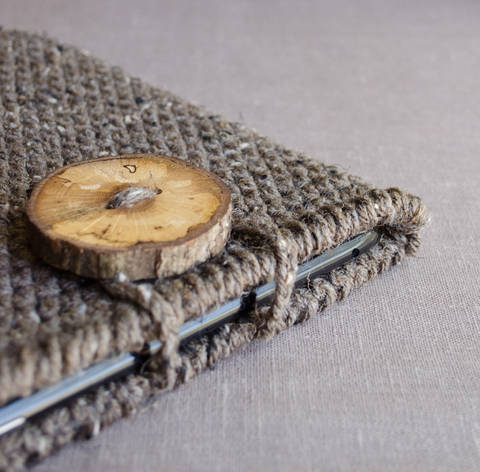 Download Crochet Tablet Case, iPad Case, Tablet Cover, Tablet Sleeve immediately at Makerist