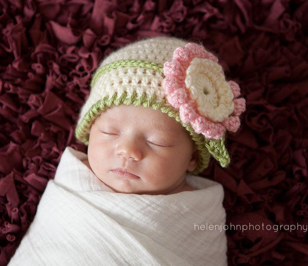 Download Newborn Headband, Newborn Hat, Newborn Photo Prop - Crochet Patterns immediately at Makerist