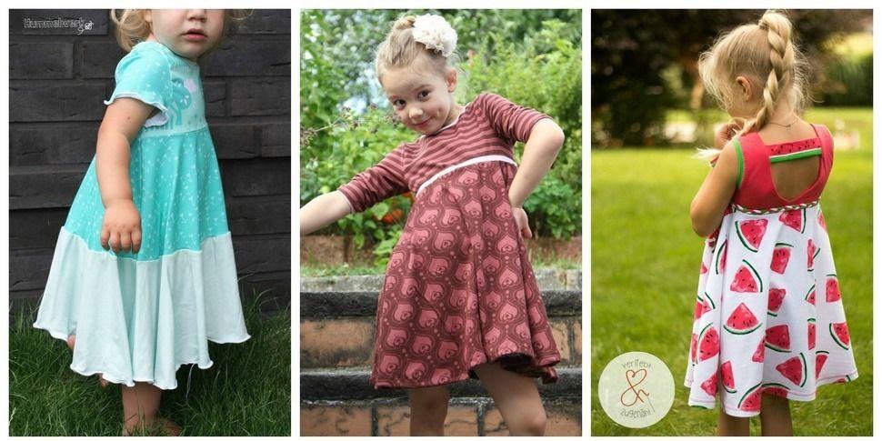 Kleid Erweiterung Mini Fiona - Nähanleitungen bei Makerist sofort runterladen