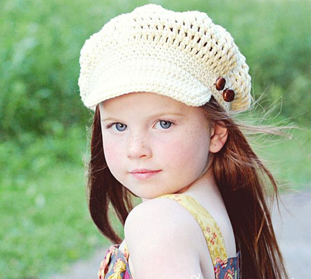 Download Crochet Newsboy Hat 6e3f187f1b1