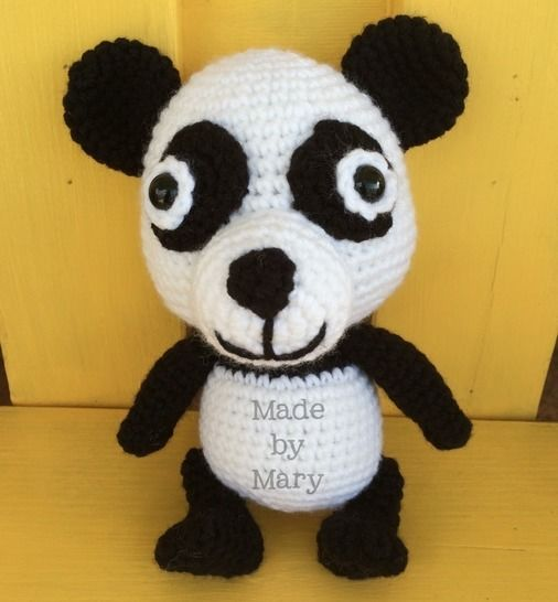 Download Peter the Baby Panda - Crochet Patterns immediately at Makerist