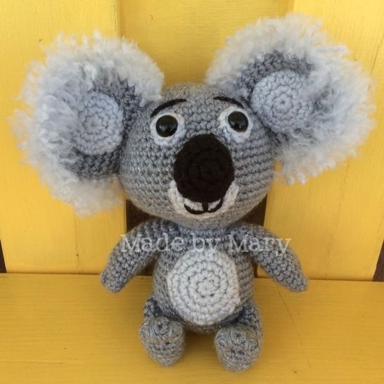 Download Kenny the Baby Koala  - Crochet Patterns immediately at Makerist
