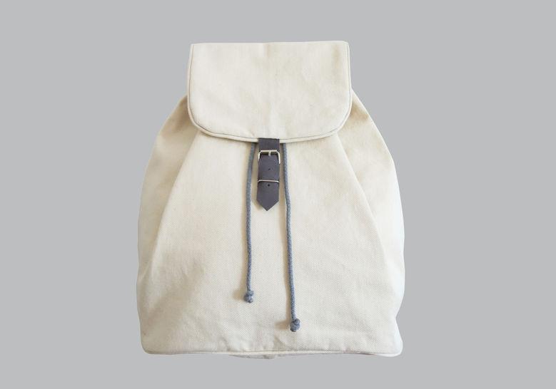 Rucksack No. 1 mit Kordelzug und verstellbaren Trägern - Nähanleitungen bei Makerist sofort runterladen