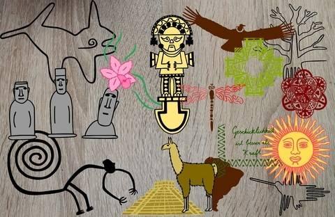 """Plotterserie """"Südamerika und die faszinierende Welt der Inka"""" bei Makerist sofort runterladen"""