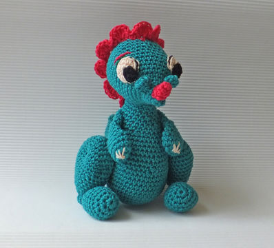 Download Amigurumi dinosaur - crochet pattern - Crochet Patterns immediately at Makerist