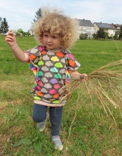 Schmetterlingsshirt Flying Hanna eBook Kinder - Nähanleitungen bei Makerist sofort runterladen