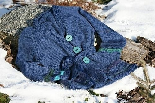 Download Alexandra -  A child's cardigan with pleated hem and cuffs - Knitting Patterns immediately at Makerist