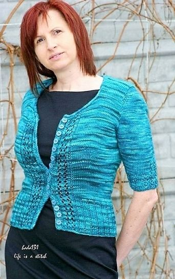 Download  Cardigan - Colors of Kauai  - Knitting Patterns immediately at Makerist