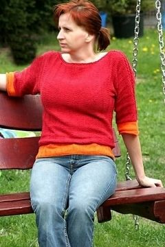 Download Ellie - A loose pullover with ¾-length sleeves - Knitting Patterns immediately at Makerist