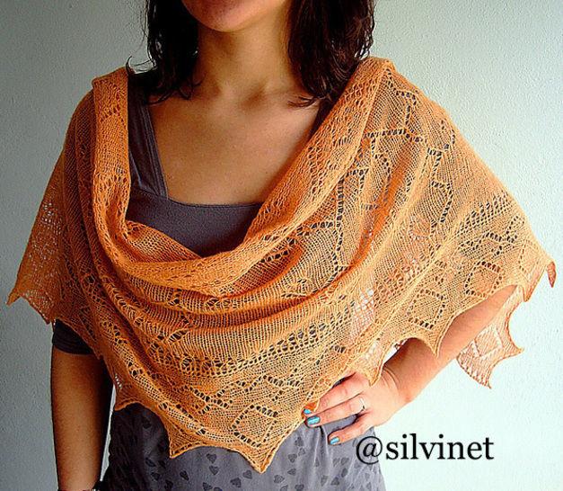 Download Shawl - Angarika Stole  - Knitting Patterns immediately at Makerist