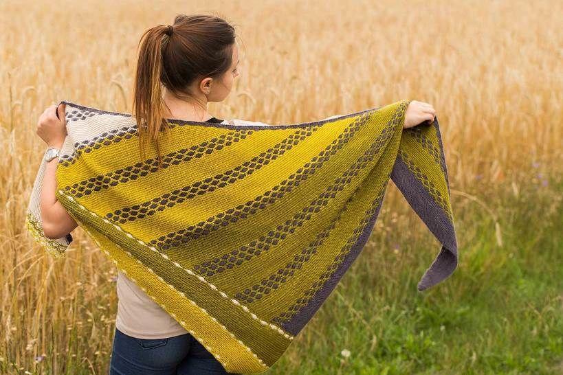 Download Shawl - Good Old Days  - Knitting Patterns immediately at Makerist