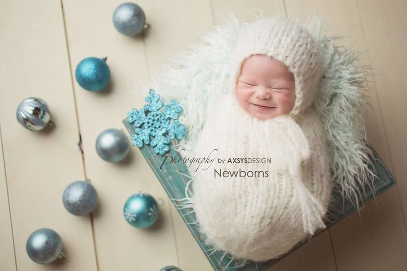 Download Newborn Bonnet, Newborn Wrap Cocoon Sack - Knitting Patterns immediately at Makerist