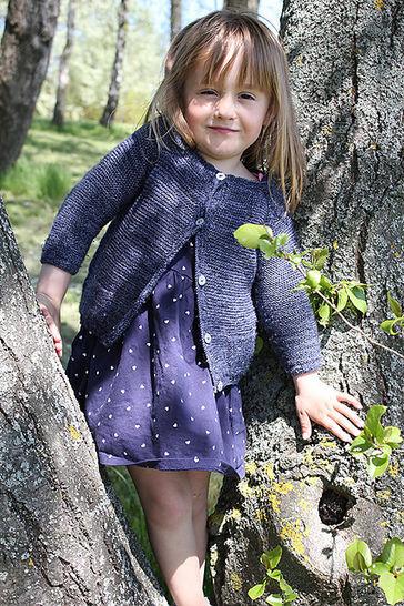 Télécharger Gilet enfant Starlette du 3m au 12 ans - Tricot - Modèles de tricot tout de suite sur Makerist