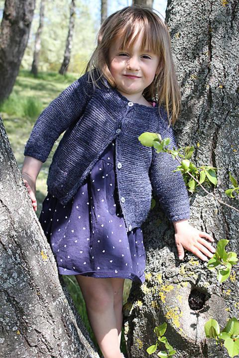 Télécharger Gilet enfant Starlette du 3m au 12 ans - Tricot tout de suite sur Makerist