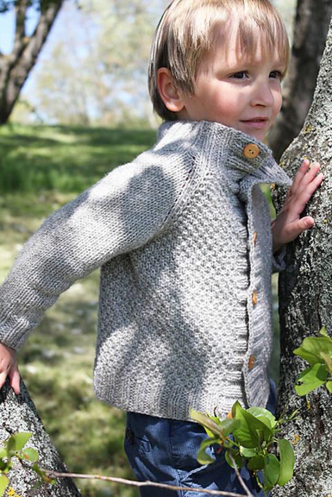 Télécharger Cardigan enfant Joseph du 6m au 12 ans - Tricot tout de suite sur Makerist