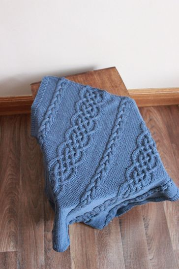 Download KP328 Aran baby blanket afghan Baby Knitting Pattern #328 - Knitting Patterns immediately at Makerist