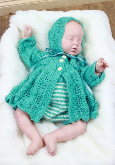 Download KP324 Missy Japonica jacket hat and pants baby knitting pattern #324 - Knitting Patterns immediately at Makerist
