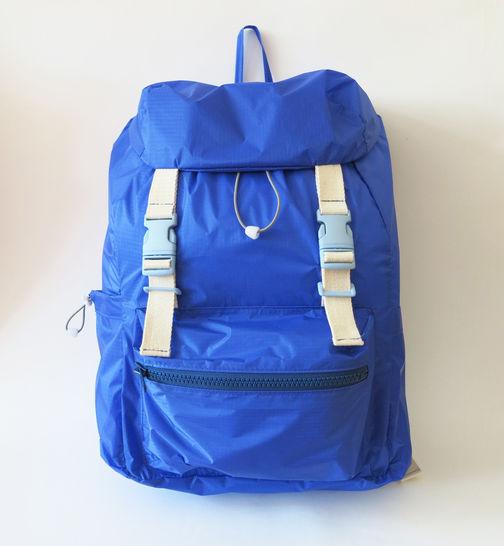 Rucksack No. 2 mit Steckschnallen, Kordelzug und verstellbaren Trägern - Größe M, für Damen - Nähanleitungen bei Makerist sofort runterladen