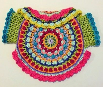 Download Summer Sorbet Baby Girls Sweater - Crochet Patterns immediately at Makerist