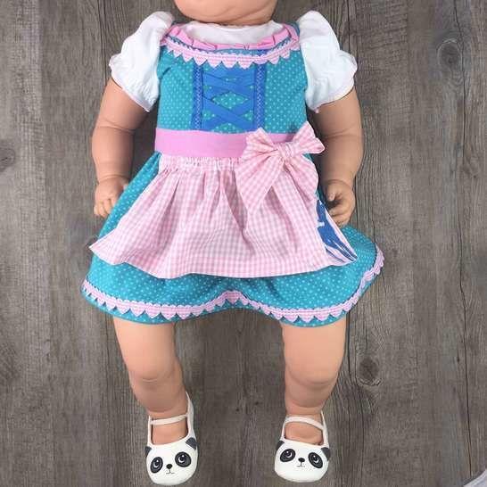 Babykleid Siggi Gr. 56-92 Nähanleitung und Schnittmuster - Nähanleitungen bei Makerist sofort runterladen