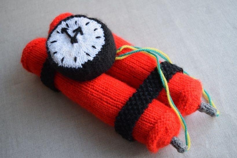 Download Dynamite Bomb Knitting Pattern PDF - Knitting Patterns immediately at Makerist