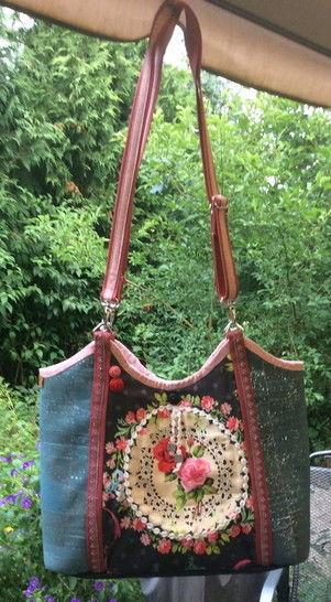 """Anleitung zum Nähen der Tasche """"Nizza"""" - Nähanleitungen bei Makerist sofort runterladen"""