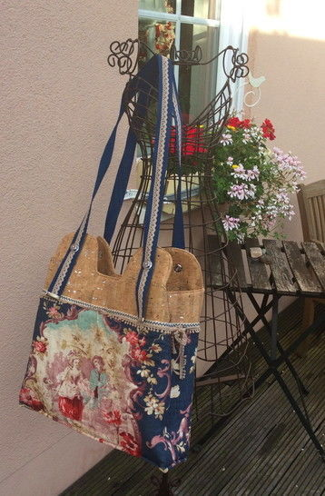"Anleitung zum Nähen der Tasche ""Lyon"" - Nähanleitungen bei Makerist sofort runterladen"