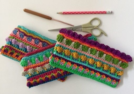 Download Seamless Sew Free Crochet Pencil Case and Change Purse - Crochet Patterns immediately at Makerist