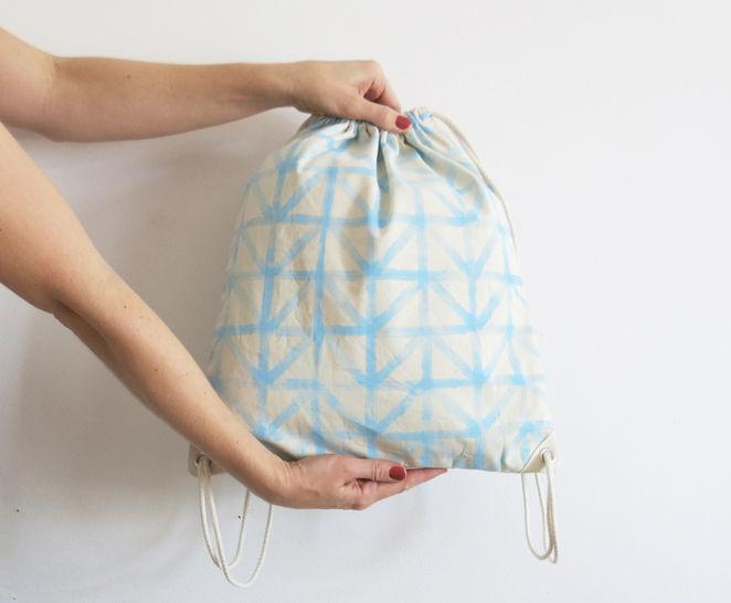 Einfacher Turnbeutel oder Rucksack - Nähanleitungen bei Makerist sofort runterladen