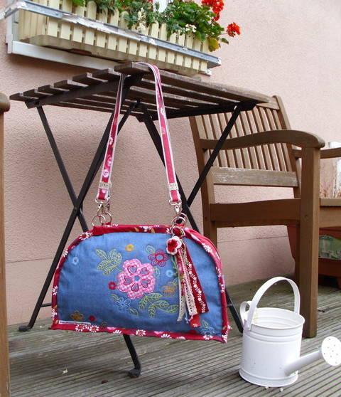 """Anleitung zum Nähen der Tasche """"San Tropez"""" bei Makerist sofort runterladen"""