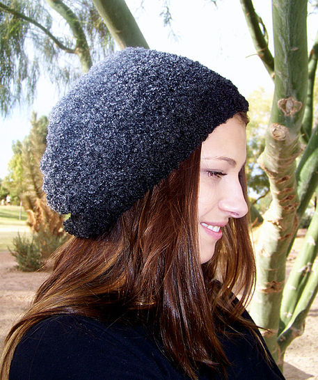 Download Slouchy Beanie, Slouchy Hat, Knit Hat, Beanie Hat - Knitting Patterns immediately at Makerist