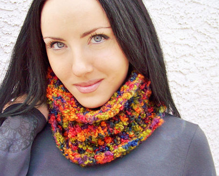 Download Chunky Cowl, Neck Warmer - Knitting Patterns immediately at Makerist