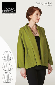 Download Indygo Essentials Swing Jacket - Sewing Patterns immediately at Makerist