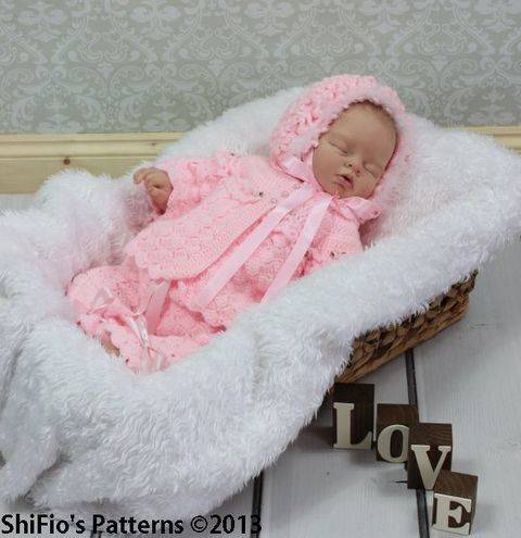 Download CP26 Jacket, Pants, Hat, Bootees Baby Crochet Pattern # 26 immediately at Makerist