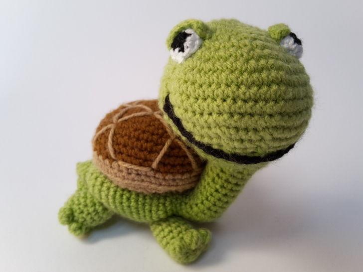 Schildkröte Lorchen - Häkelanleitung - Häkelanleitungen bei Makerist sofort runterladen