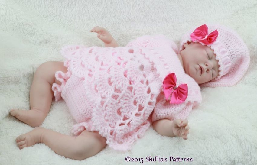Download CP319 Sailor Angel Top, Pants, Beret in 3 Sizes Baby Crochet Pattern #319 - Crochet Patterns immediately at Makerist