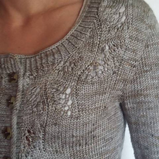 Download cardigan Low Tide - knitting tutorials - Knitting Patterns immediately at Makerist