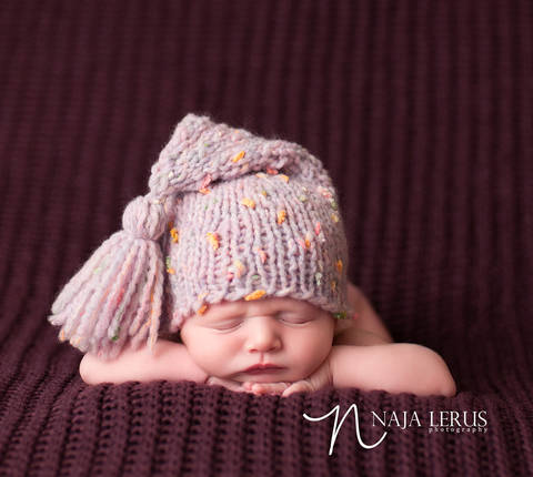 Download Newborn Hat, Stocking Hat, Stocking Cap, Baby Hat immediately at Makerist