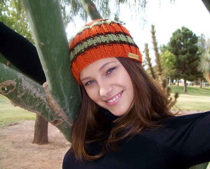 Download Striped Hat, Beanie Hat, Knit Hat, Knit Beanie - Knitting Patterns immediately at Makerist
