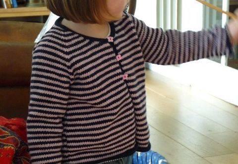 Télécharger Gilet Malou une taille 4 ans - tricot tout de suite sur Makerist